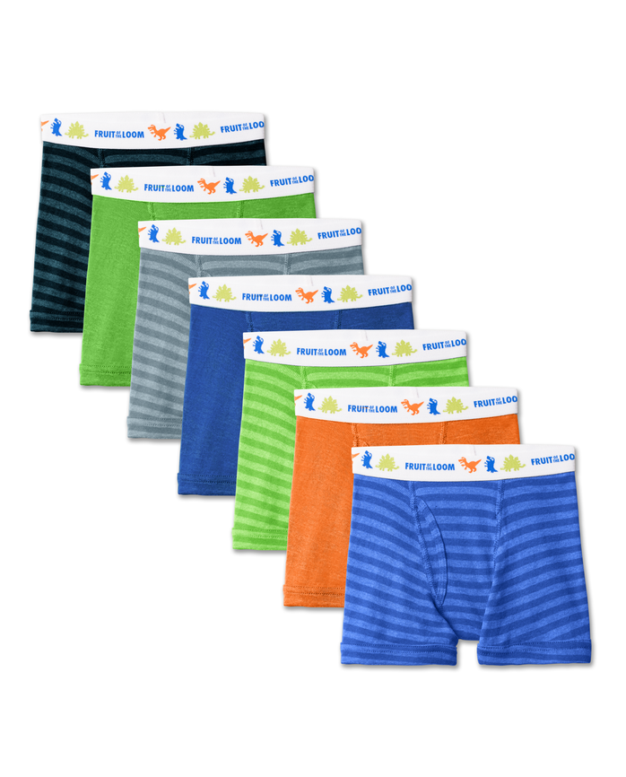 Toddler Boys' Assorted Boxer Brief, 7 pack