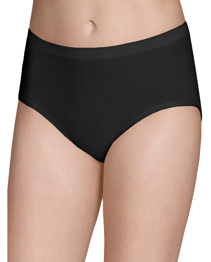 Women's Seamless Low-Rise Brief Panty, 6 Pack