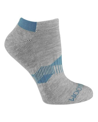 Women's Active No Show Socks, 6 Pack, Size 4-10