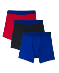 Fruit of the Loom Premium  Cool Blend Men's Boxer Briefs, 2 Pack - Assorted