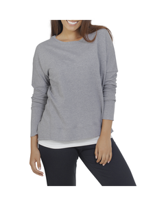 Women's Essentials In Transit Long Sleeve French Terry Top