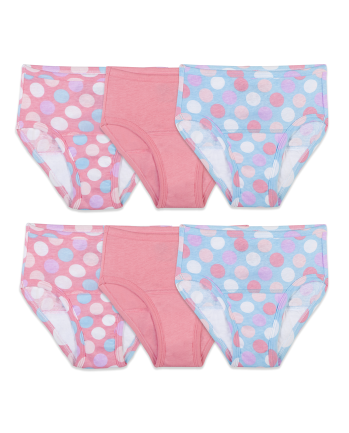 Toddler Girls' Training Pant, 6 Pack
