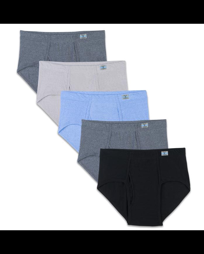 Men's Beyondsoft Fashion Brief, 5 Pack, Size 2XL