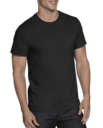 Men's Short Sleeve Assorted Pocket T-Shirts, 5 Pack