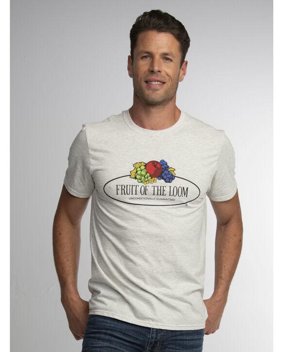 Retro Fruit of the Loom Logo T-Shirt Retro