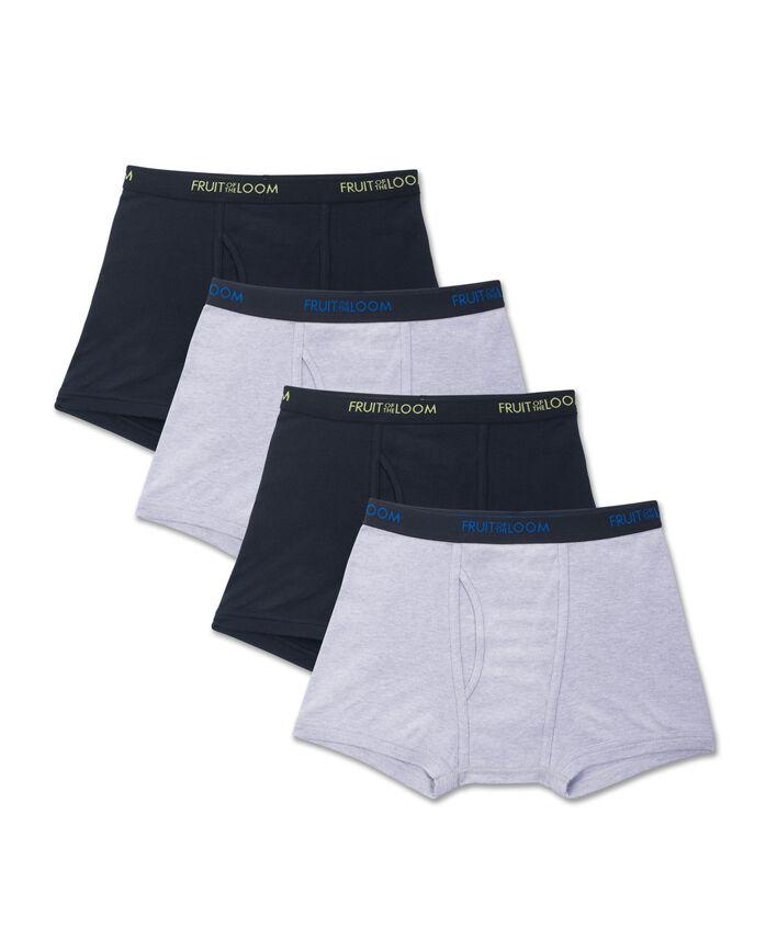 Men's Premium Dri-Stretch Short Leg Boxer Brief - Assorted, 4 Pack