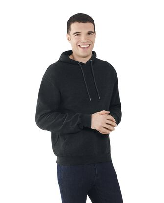 Men's EverSoft Fleece Pullover Hoodie Sweatshirt, Extended Sizes, 1 Pack