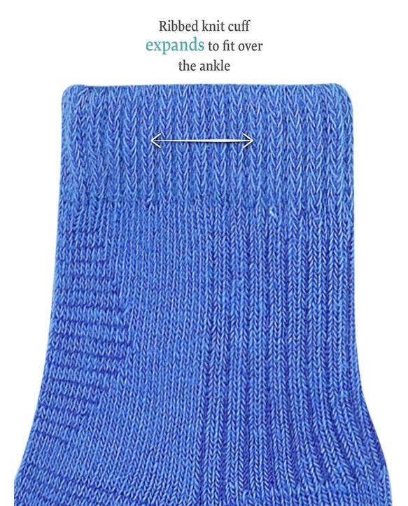 Baby Boys' Grow & Fit Socks, 14 Pack Blue Multi