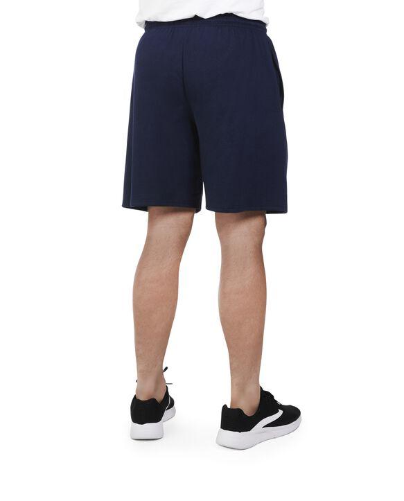 Big Men's 360 Breathe Jersey Shorts with Pockets jnavy