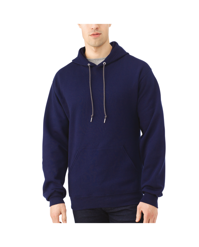 Big Men's EverSoft Fleece Pullover Hoodie Sweatshirt J.Navy