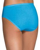 Women's 100% Cotton Hipster Panty, 6+3 Bonus Pack ASSORTED