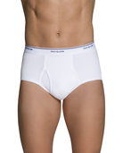 Fruit of the Loom® Men's Cotton White Briefs, 15 Pack White