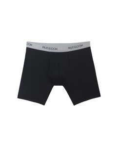 Men's EverLight Black/Gray Boxer Briefs, 3 Pack
