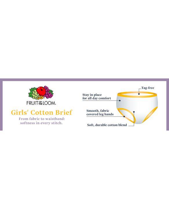 Girls' Assorted Cotton Brief, 14 Pack