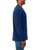 Soft Long Sleeve Crew Neck T-Shirt, 2 Pack J Navy