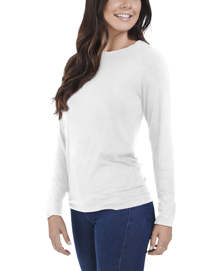 d2f24159 Women's Seek No Further® Long Sleeve Ribbed Crew Neck T Shirt, 1 Pack Quick  View