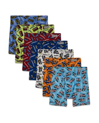 Toddler Boys' Days of the Week Boxer Briefs, 7 Pack