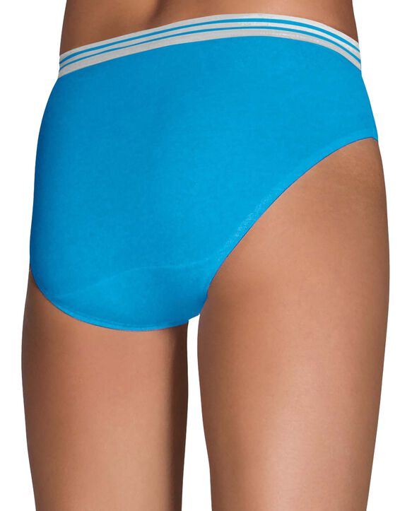 Women's Heather Bikini Panty, 8 Pack ASSORTED