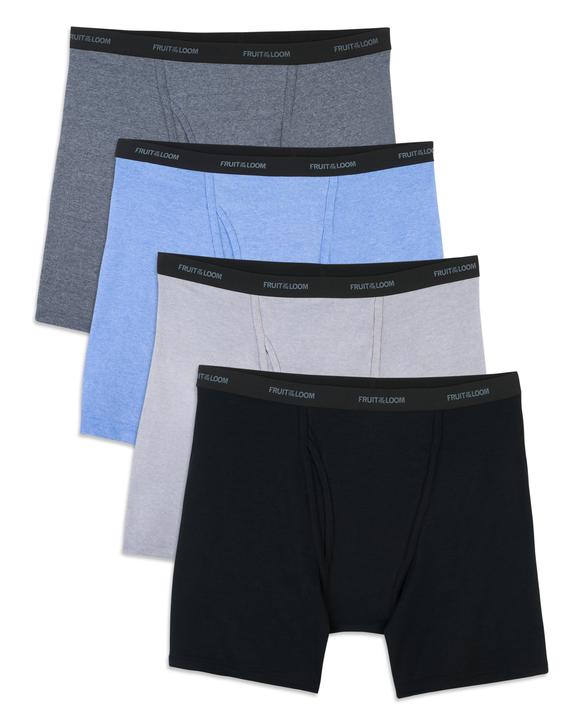 Men's Beyondsoft Boxer Briefs, 4 Pack, Size 2XL Assorted