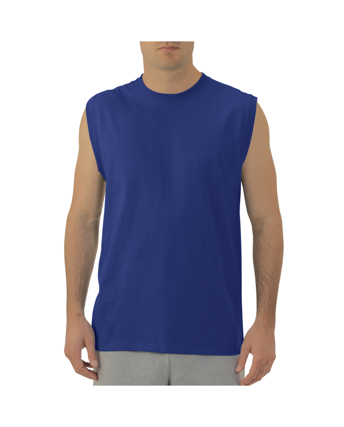 Big Men's EverSoft Muscle T-Shirt, Available in Extended Sizes