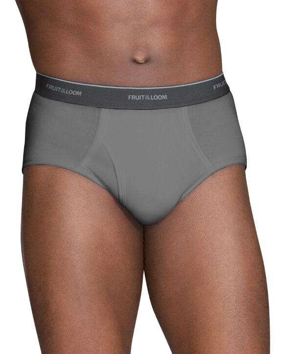 Men's Assorted Fashion Briefs, 6 Pack Assorted colors