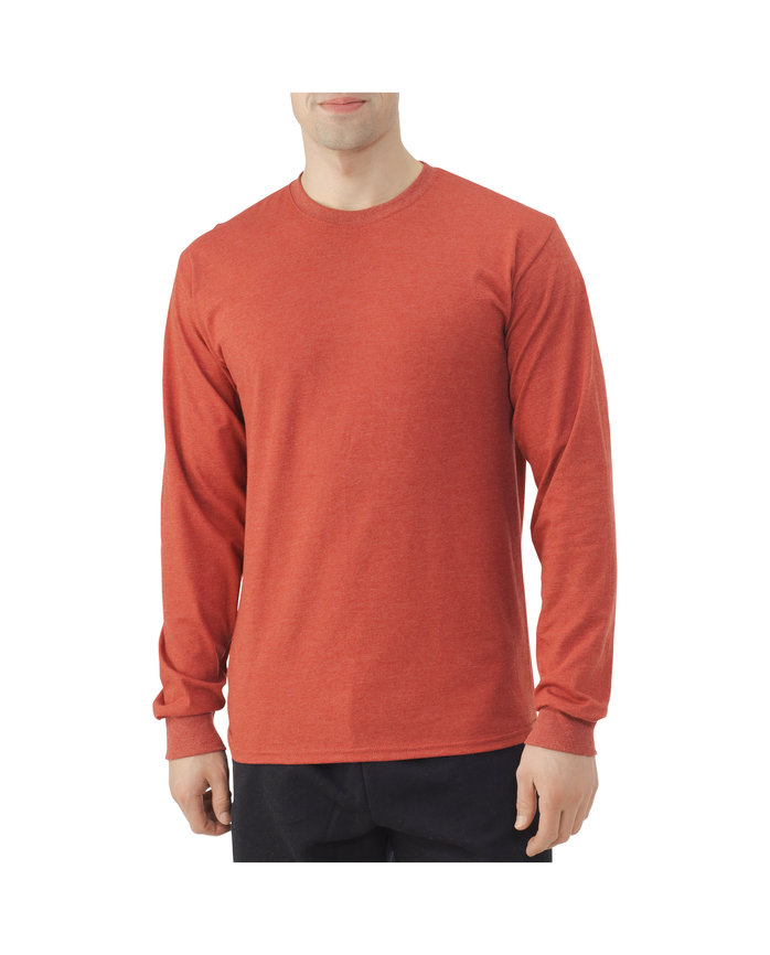 Men's EverSoft Long Sleeve T-Shirt, Available up to size 4X