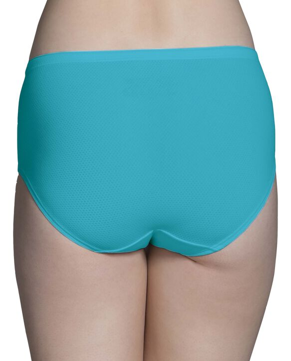 Women's Breathable Micro-Mesh Low-Rise Brief Underwear, 6 Pack ASSORTED