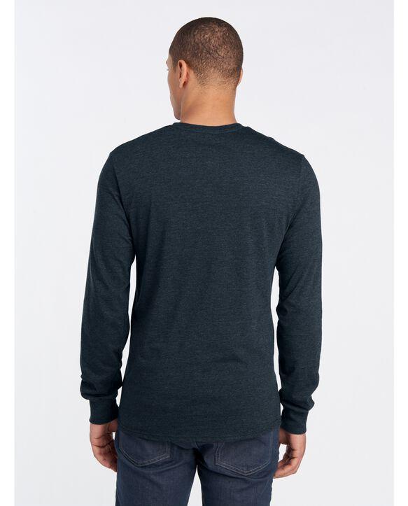 ICONIC Unisex Long-Sleeve T-Shirt Black Heather