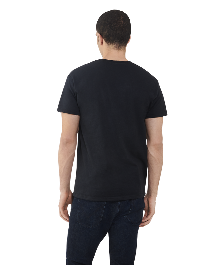 Men's Dual Defense UPF Short Sleeve Crew T-Shirt Black