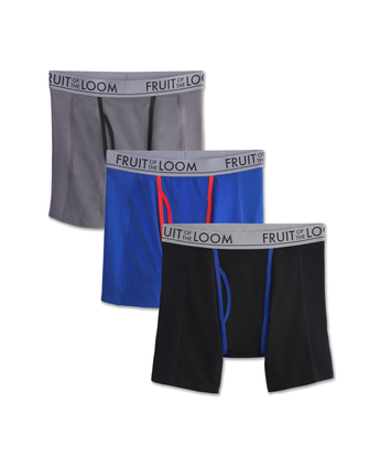 Men's Ultra Flex Boxer Brief, 3 Pack