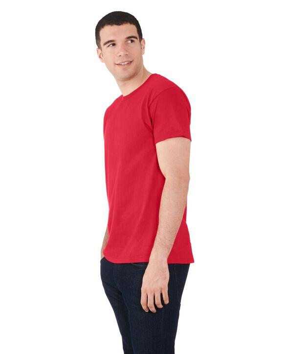Men's 360 Breathe Crew T-Shirt, Extended Sizes True Red