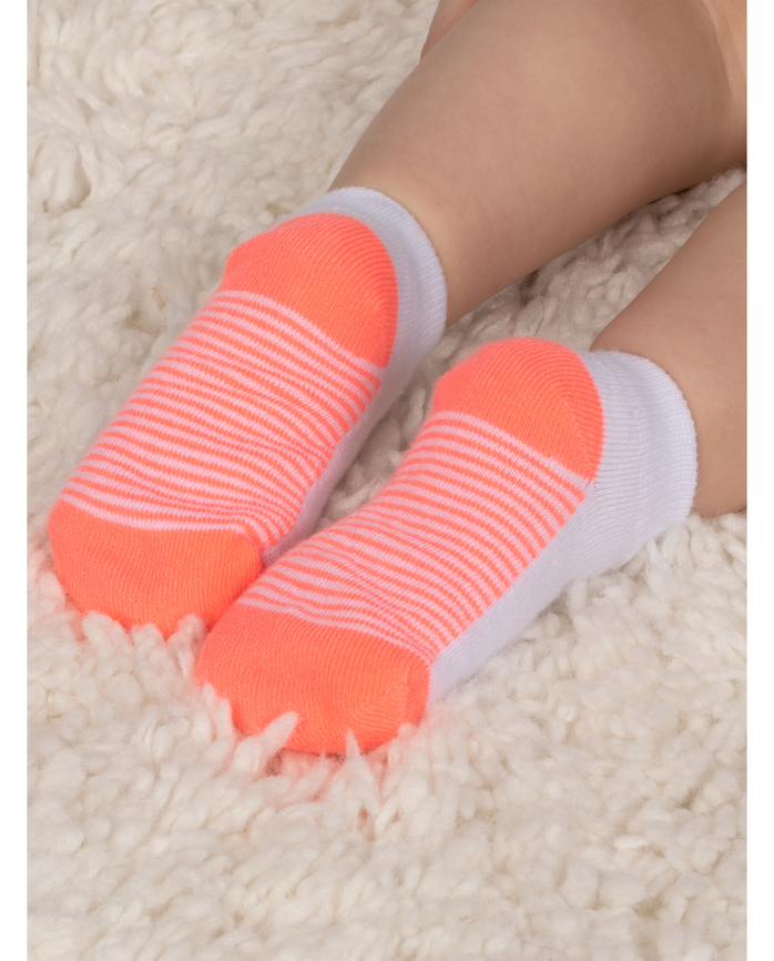 Everyday Baby and Toddler Kick Proof Socks, 10 Pack Multi