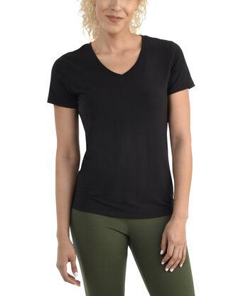 Women's  Seek No Further Short Sleeve V-Neck T-shirt