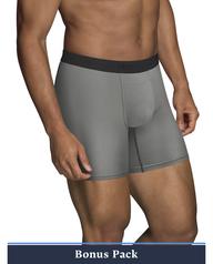 Men's EverLight Go Active Boxer Briefs, 4 Pack