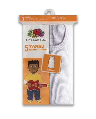 Toddler Boys' Tank, 5 pack
