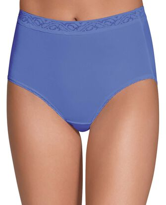 Women's Assorted Nylon Brief, 6 Pack