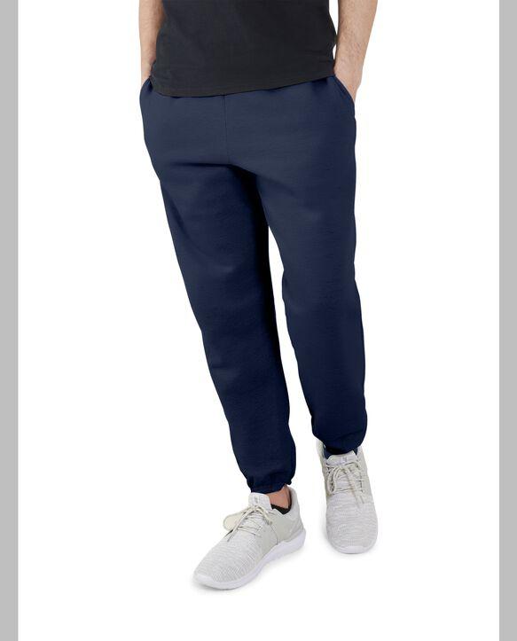 Men's EverSoft Fleece Elastic Bottom Sweatpants, 1 Pack Blue Cove