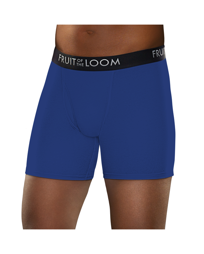 Men's Breathable Assorted Color Boxer Brief, 3 Pack, Size 2XL Assorted