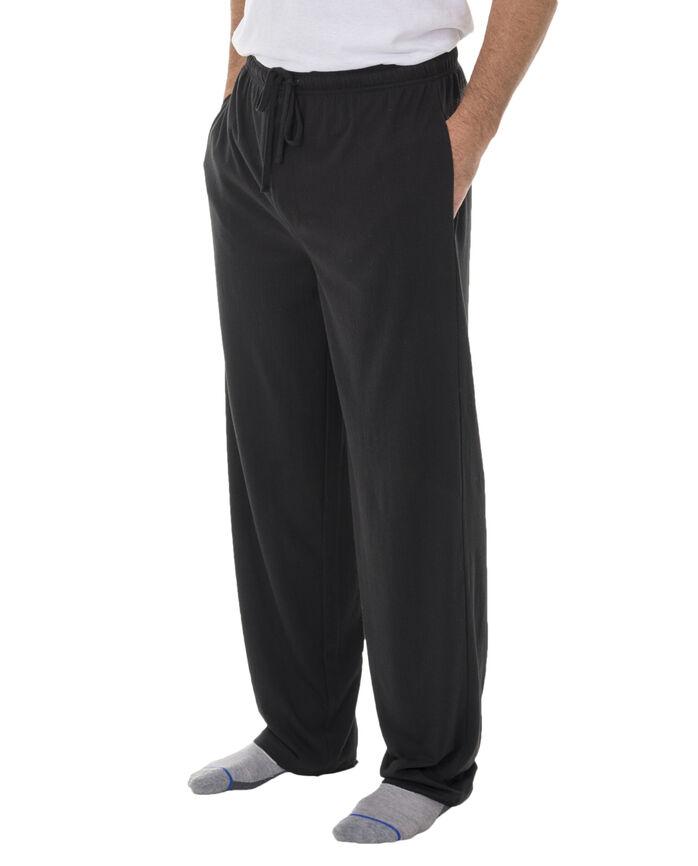 Men's Breathable Mesh Sleep Pant, 1 Pack BLACK