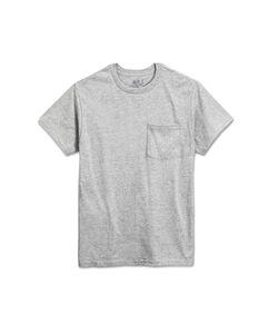 Men's 4 Pack Black Pocket T-Shirt Extended Sizes