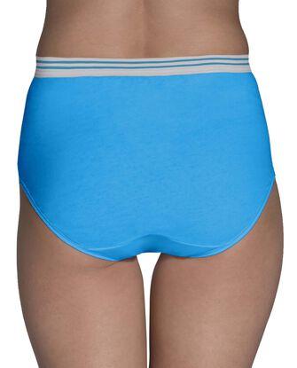 Women's Assorted Heather Brief Underwear, 6 Pack