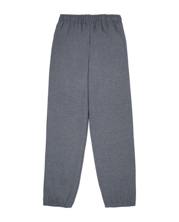 Boys' Fleece Elastic Bottom Sweatpants, 1 Pack Charcoal