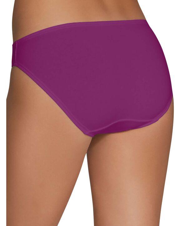 Women's Cotton Stretch Bikini Panty, 6 Pack Assorted