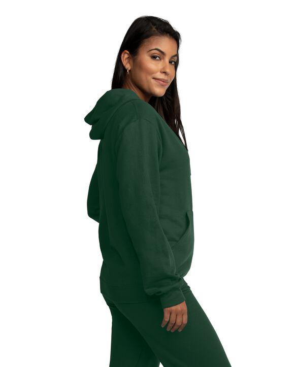 EverSoft Fleece Full Zip Hoodie Jacket, 1 Pack Green