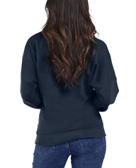 Women's Seek No Further Long Sleeve V-Neck Fleece Blouse Navy Nights
