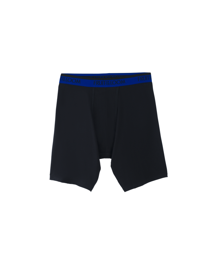 Premium Cool Blend 3pk Long Leg Boxer Brief - Assorted