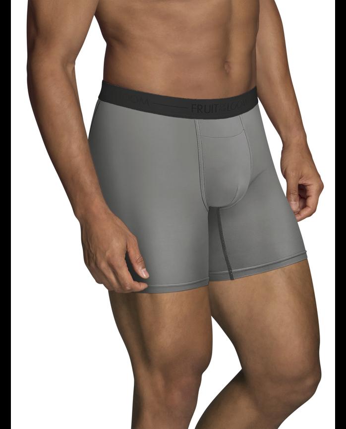 Men's EverLight Go Active Boxer Briefs, 3 Pack, Extended Sizes