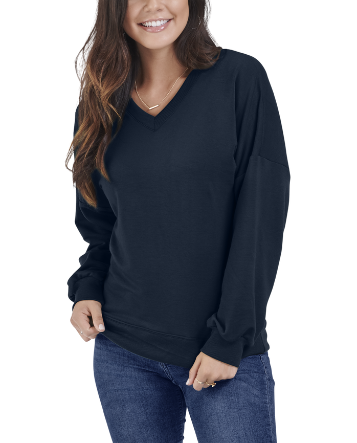Women's Seek No Further® Brushed Fleece Blouse, 1 Pack