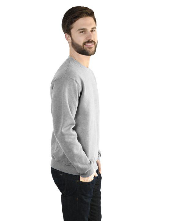Men's EverSoft Fleece Crew Sweatshirt, Extended Sizes, 1 Pack Medium Grey Heather