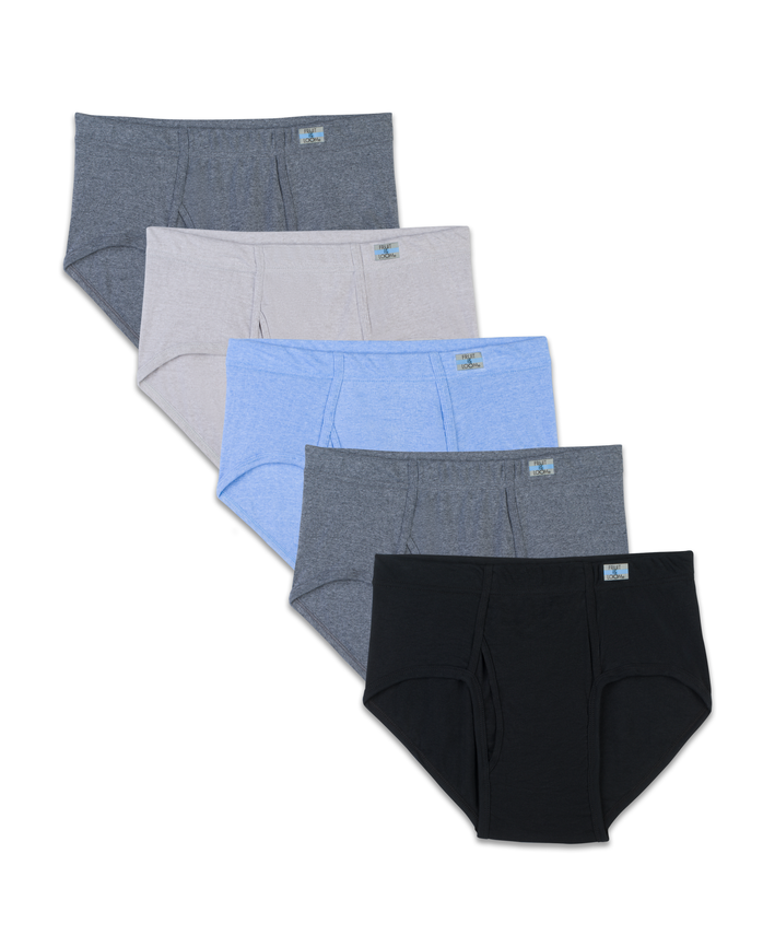 Men's Beyondsoft Fashion Brief, 5 Pack, Size 2XL